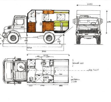 Skizze 2 Unimog