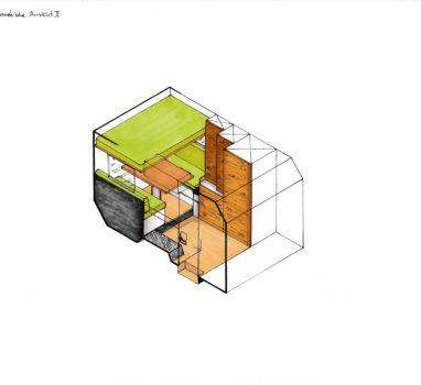 Skizze 5 Unimog Isometirsche Ansicht 2