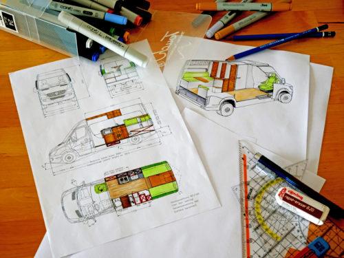 Ausbau-Plan und Bestandsaufnahme unseres Sprinters