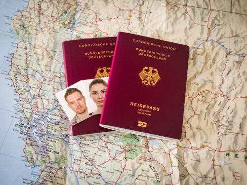 Passport for frequent travellers