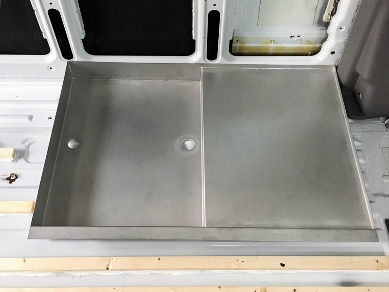 Stainless Steel Rv Shower Pan.Shower Tray Made Of Stainless Steel Overlandys