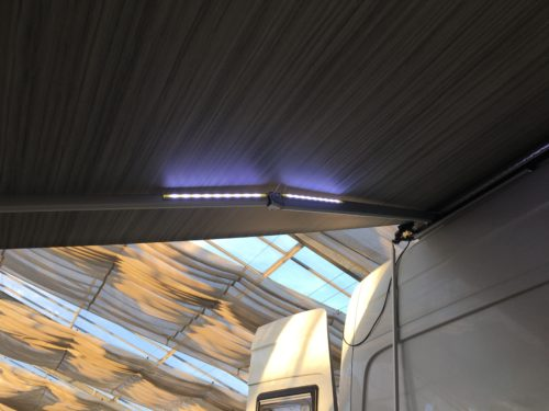 Awning (Part 3) Accessory: LED lights