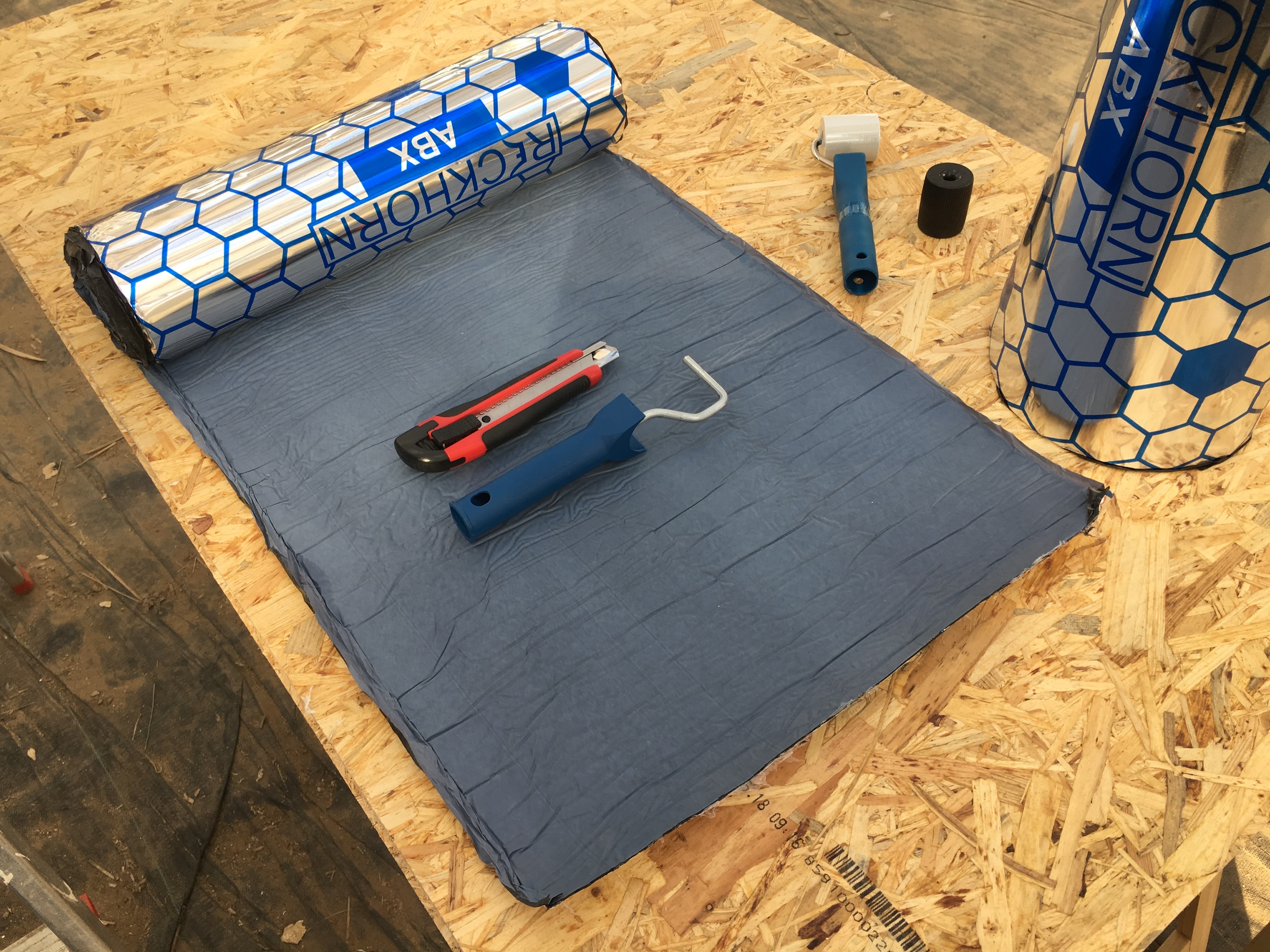 Campervan Insulation (Part 2) Noise insulation with Alubutyl