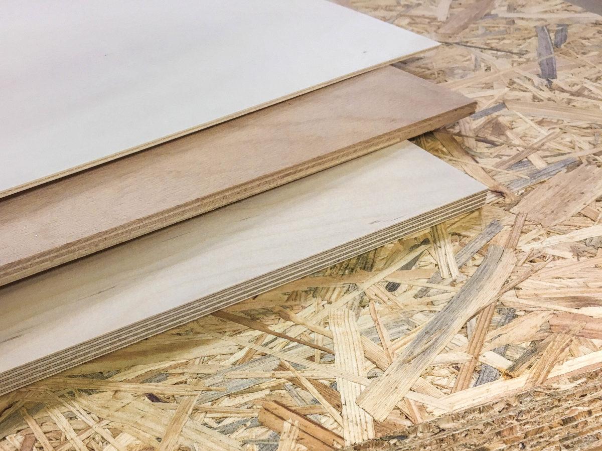 Holzarten für die neue Bodenplatte