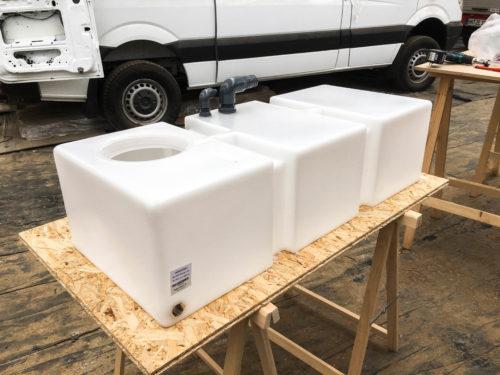 125 liter freshwater tank