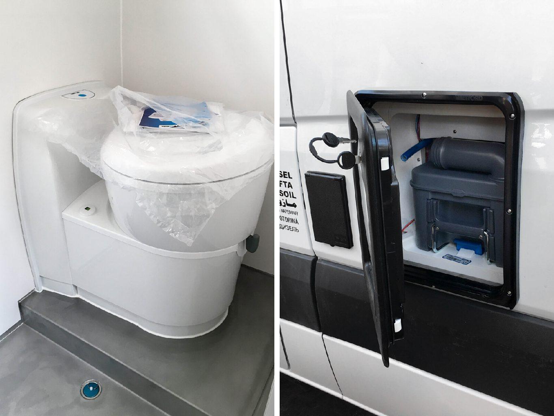 Welche Toilette im Campervan?