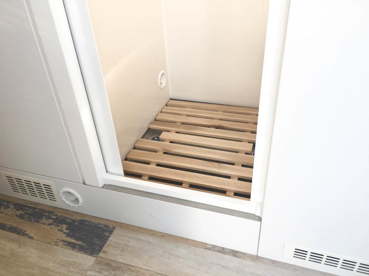 DIY Teak-Gräting für Wohnmobil Dusche