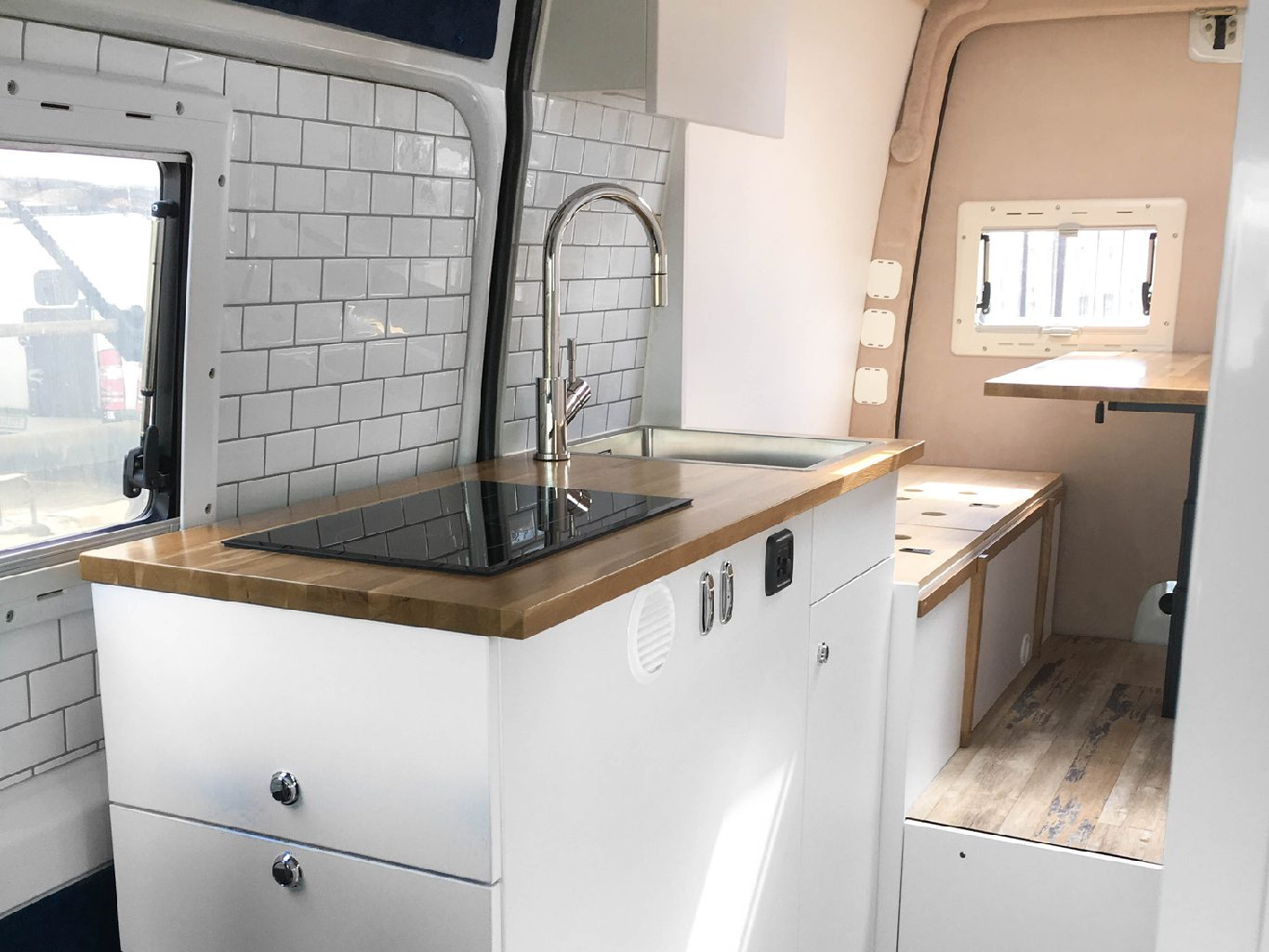 DIY Camper Kitchen